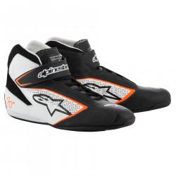 Races Shoes ALPINESTARS FIA Tech 1 T - Black/White/Orange