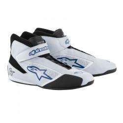 Races Shoes ALPINESTARS FIA Tech 1 T - Silver/White