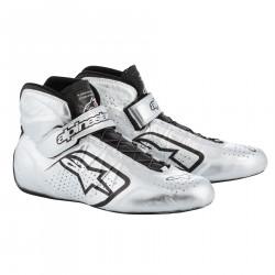 Races Shoes ALPINESTARS FIA Tech 1-Z - Silver/Black