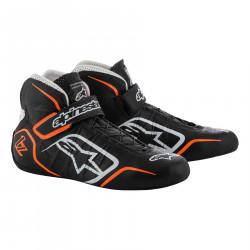 Races Shoes ALPINESTARS FIA Tech 1-Z - Black/White/Orange