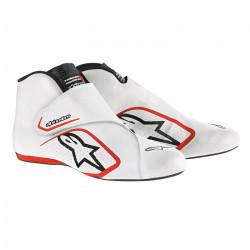 Races Shoes ALPINESTARS FIA Supermono - White/Red