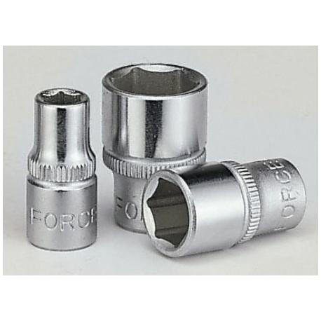 "1/4"" 6-point sockets FORCE 1/4"" 6PT. SOCKET (METRIC) 6mm | races-shop.com"