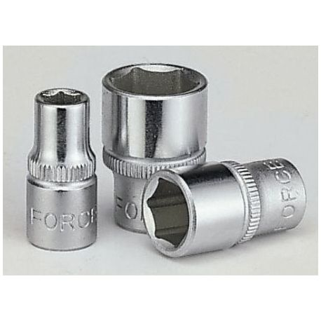 "1/4"" 6-point sockets FORCE 1/4"" 6PT. SOCKET (METRIC) 3,2mm | races-shop.com"