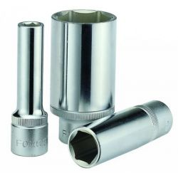 "FORCE 1/2"" 6PT. DEEP SOCKET (METRIC) 10mm"