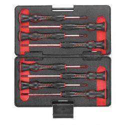 FORCE 8-piece mini screwdriver set TORX