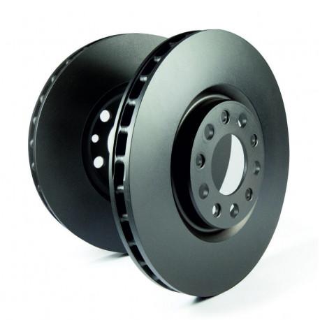 EBC OE Front Brake Discs 283mm for Peugeot 306 2.0 16v 95-97 D612