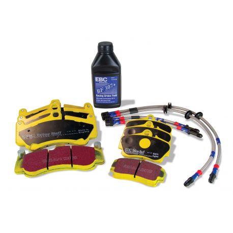 EBC brakes EBC Yellowstuff kit PLK1235 - Brake pads,brake lines,brake fluid | races-shop.com