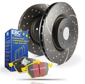 Ebc Yellowstuff Front Brake Pads Dp4872R