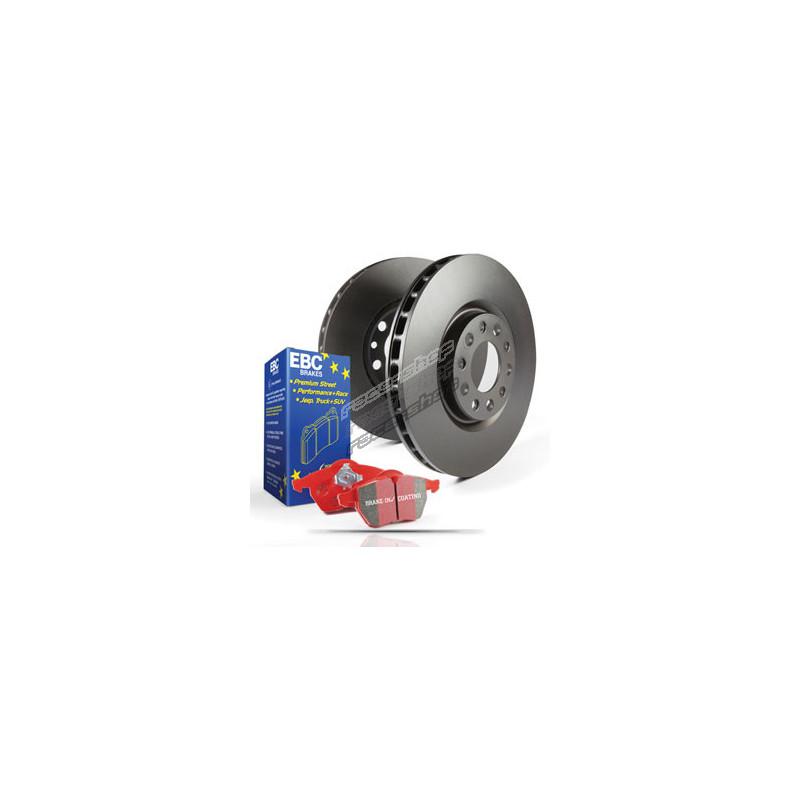 EBC Brakes DP32082C EBC Redstuff Ceramic Low Dust Brake Pads