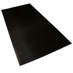 Self adhesive carbon sheet