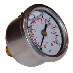 Pressure gauges with glycerine Sytec 0-7Bar