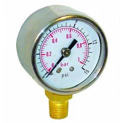 Pressure gauges 0-1Bar