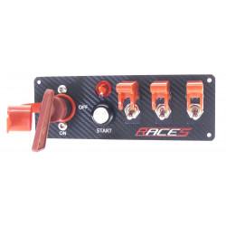 Switch panels RACES ISP4 carbon