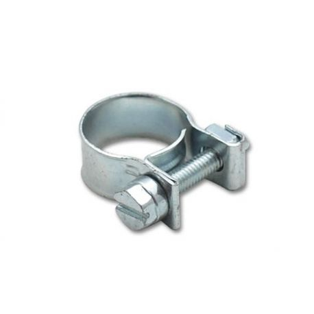 Hose clamps and sleeves Zinced hose clamp mini W1 - different diameters | races-shop.com
