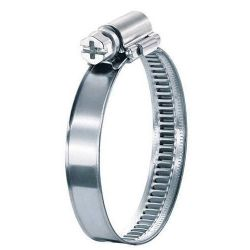 Stainless steel hose clamp - different diameters