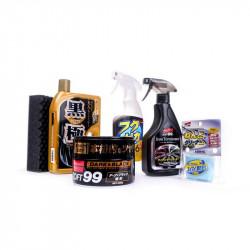 Soft99 kit for dark paints