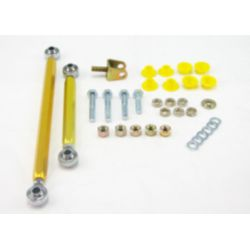Sway bar - link kit 100mm lift adj spherical rod M/SPORT