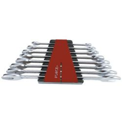 FORCE 8 piece flat spanner set