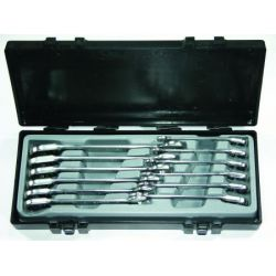 FORCE 12-piece ratchet wrench set