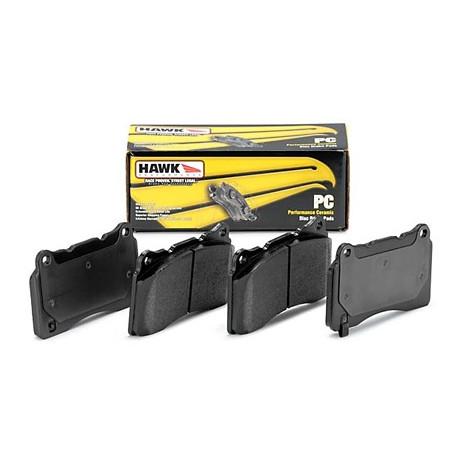 Brake pads HAWK performance Rear brake pads Hawk HB212Z.535, Street performance, min-max 37°C-350°C | races-shop.com