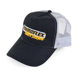 Powerflex Powerflex Black Series Trucker Hat (Grey) Promotional Items HATS