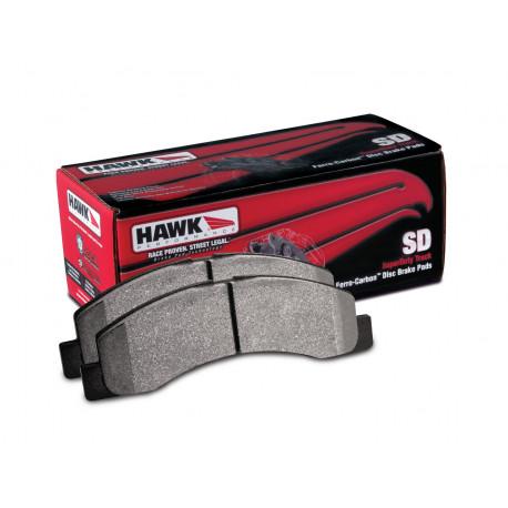 Brake pads HAWK performance Front brake pads Hawk HB266P.650, Street performance, min-max 37°C-400°C   races-shop.com