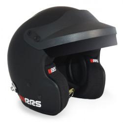 Helmet RSS JET PROTECT PREMIUM BLACK with FIA 8859-2015, Hans