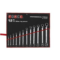 FORCE 12 piece wrench set