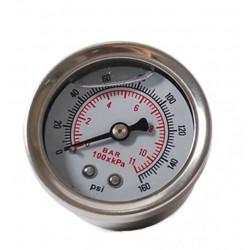 Glycerine fuel gauge 0-8Bar