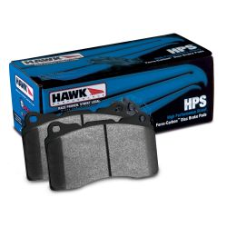 Rear brake pads Hawk HB458F.642, Street performance, min-max 37°C-370°C