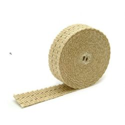 Exhaust Wrap - 2,5cm x 15m - Tan
