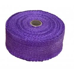 Exhaust insulating wrap,purple, 50mm x 10m x 1mm