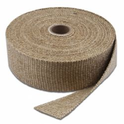 Exhaust insulating wrap Thermotec, white, 50mm x 7,5m