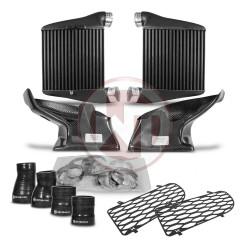 Comp. Intercooler Kit EVO2 Audi A4 RS4 B5 including carbon air shroud