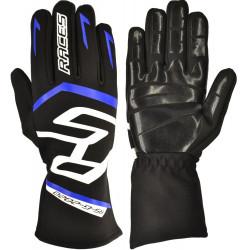 RACES Premium EVO II gloves SILICONE Blue