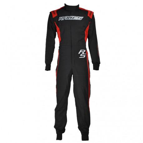 Suits Racing suit RACES EVO II Red | races-shop.com