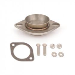 "76mm (3"") downpipe flange to stock Subaru exhaust"