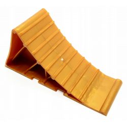 Car wedge for securing wheels