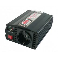 Automotive voltage converter 12V to 230V