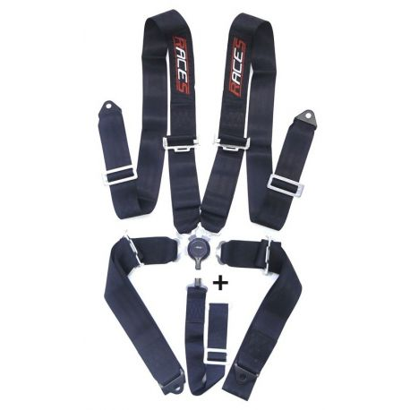 "Seatbelts and accessories Harness 5-point RACES 3"" (76mm), black   races-shop.com"