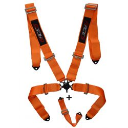 "Harness 5-point RACES 3"" (76mm), Orange"