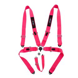 """5 point safety belts RACES 3"""" (76mm), pink"""