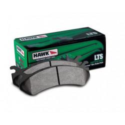 Rear brake pads Hawk HB702Y.662, Street performance, min-max 37°C-370°C