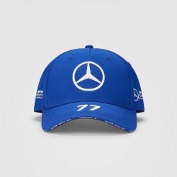 MERCEDES AMG PETRONAS V. BOTTAS baseball cap - blue