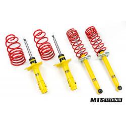 Fixed sport suspension KIT MTS Technik for Audi A2, 06/00 - 08/05, 25 mm / 25 mm