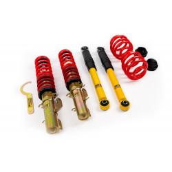 Street and circuit height adjustable coilovers MTS Technik Street for Volkswagen Bora 03/99 - 09/06