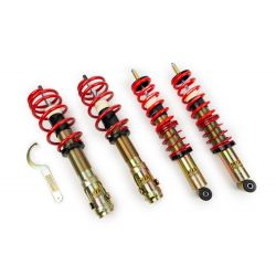 Street and circuit height adjustable coilovers MTS Technik Comfort for BMW 3 Series / E46 Sedan 02/98 - 02/07