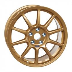 "Racing wheel BRAID Fullrace A 8X18"" GOLD"