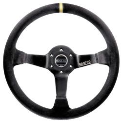3 spokes steering wheel Sparco R325, 350mm suede, 95mm