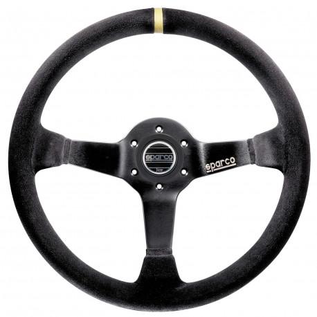 steering wheels 3 spokes steering wheel Sparco R325, 350mm suede, 95mm | races-shop.com